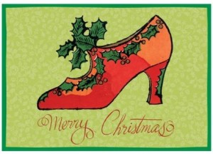 Warhol Christmas Shoe