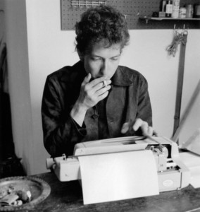 Dylan at Ginsberg's Typewriter