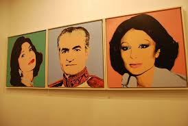 warhol in iran
